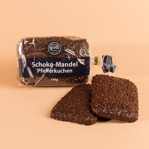 Schoko-Mandel-Pfefferkuchen