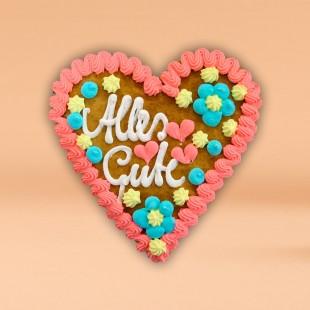 Pfefferkuchen - Herz