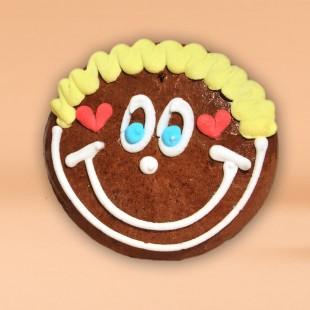 Pfefferkuchen - Smiley