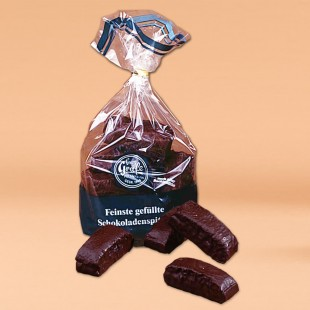 Gefüllte Schokoladenspitzen (Feine Mehrfruchtspitzen)
