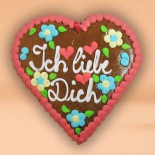 Pfefferkuchen - Liebesherz