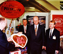 Internationalen Süßwarenmesse 1995