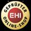 Gütesiegel EHI Geprüfter Online-Shop
